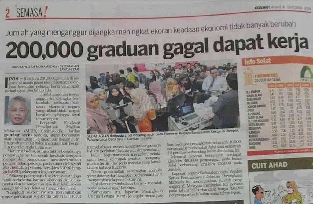 10 Ijazah Yang Paling Senang Dapat Kerja Di Malaysia 2