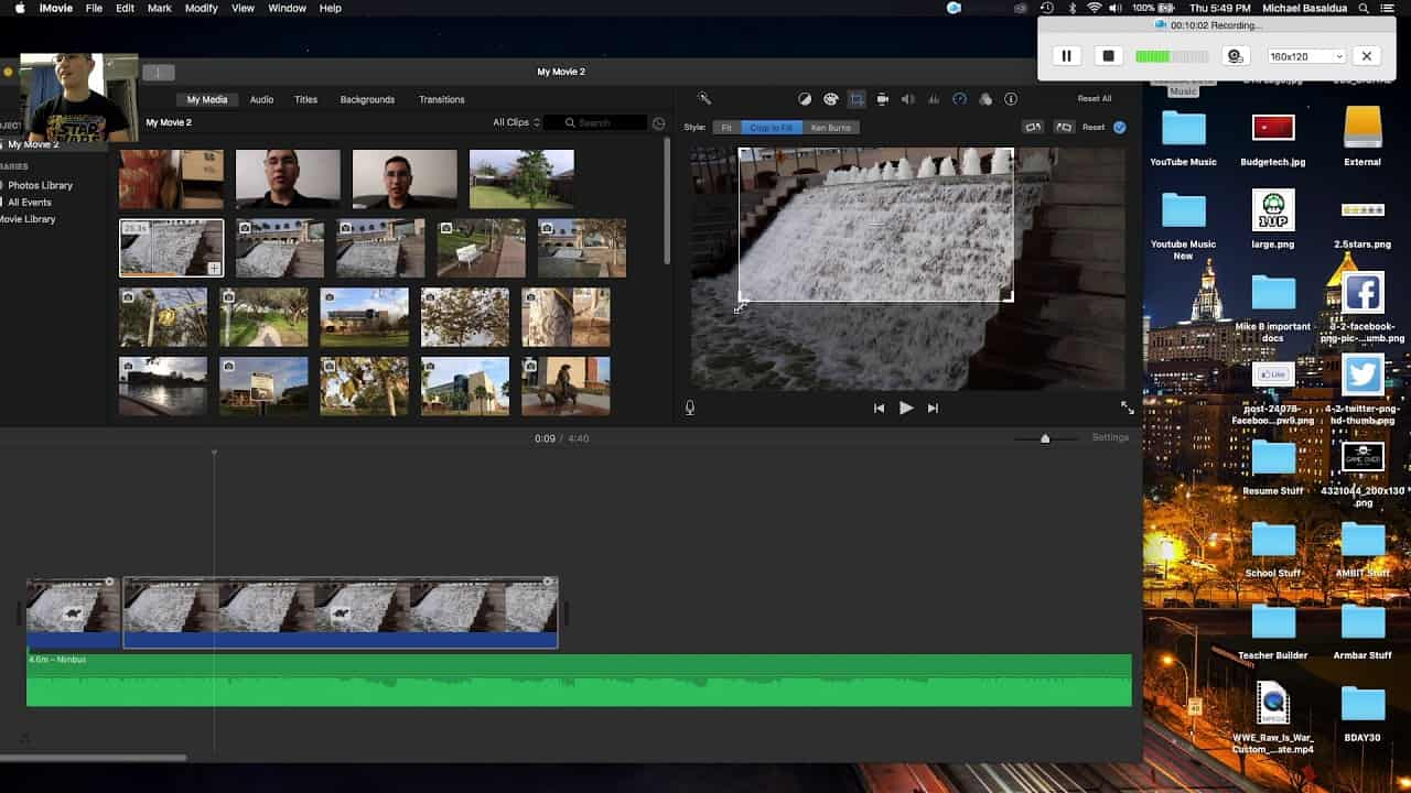 Edit Video guna Imovie