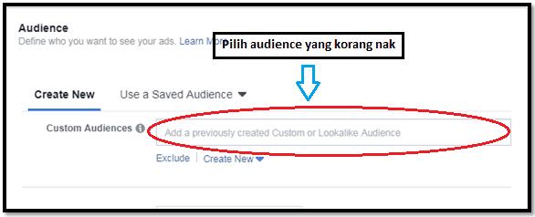 Cara-cara untuk setup messenger ads di Facebook 7