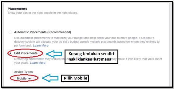 Cara-cara untuk setup messenger ads di Facebook 8