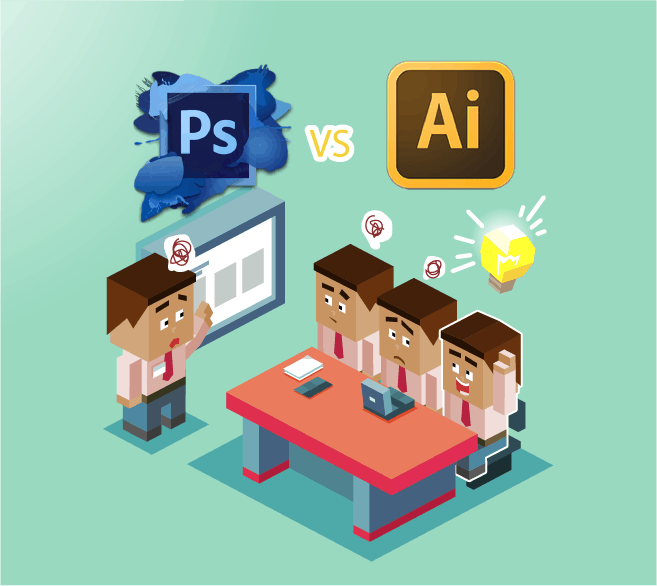 Adobe Photoshop dan Adobe Illustrator. Nak Pilih Yang Mana? 2