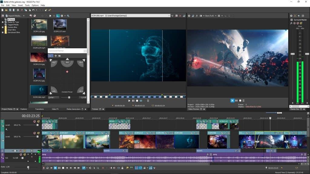 Edit Video Vegas Pro